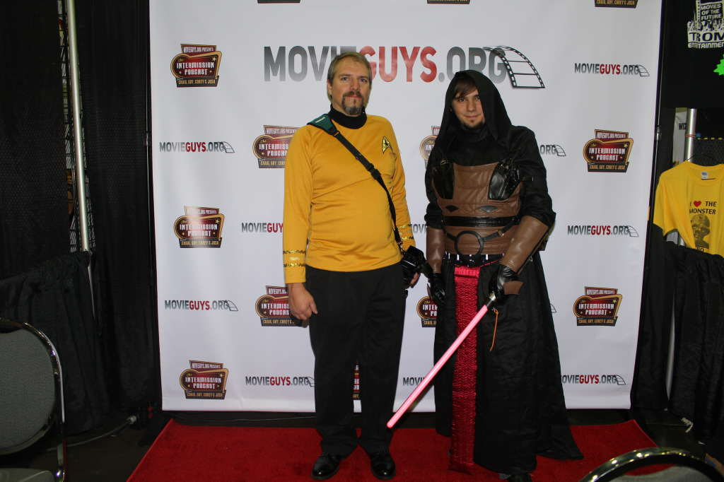 Star Wars and Star Trek joint cosplay? Blsphemy!