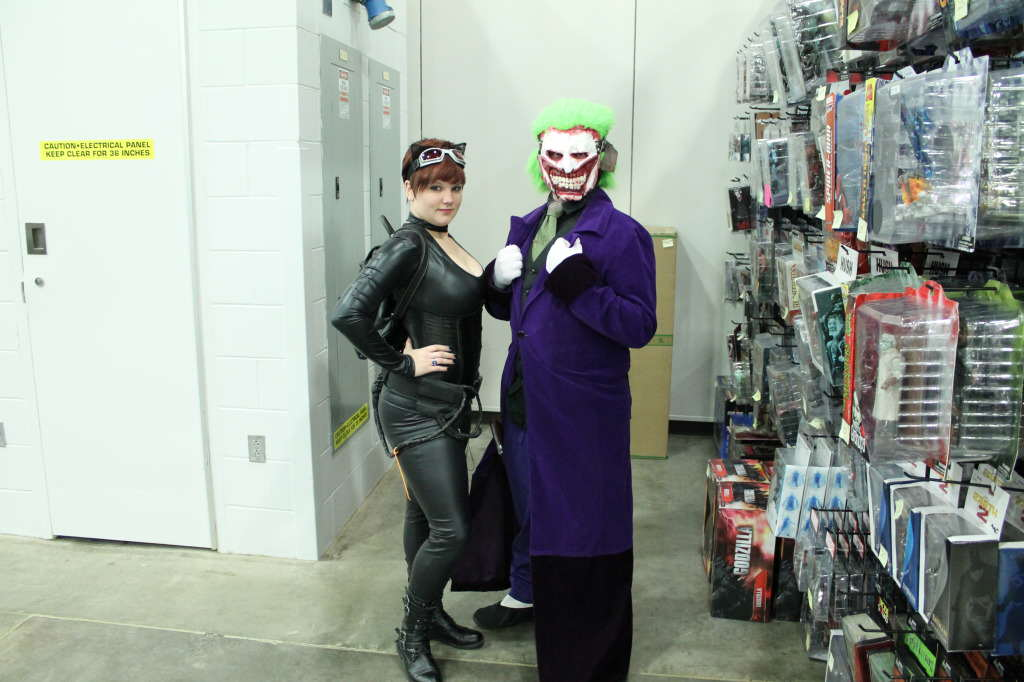Cat Woman and the Joker
