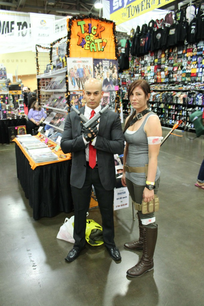 Hitman and Laura Croft (Tomb Raider)