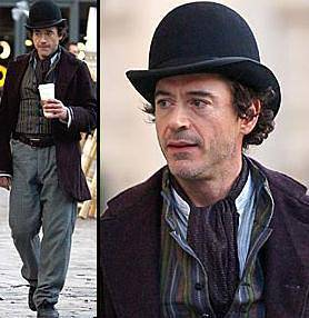 Downey Jr as Holmes
