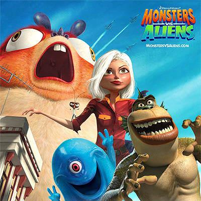 monsters vs aliens review